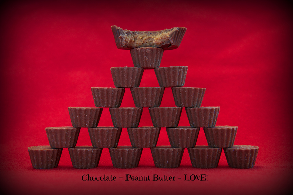 Chocolate + Peanut Butter = LOVE!! by kwind