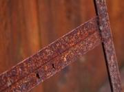 7th Feb 2013 - Rust on rust.