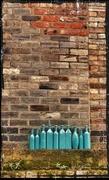 9th Feb 2013 - Ten green bottles (sitting on a wall)