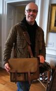 9th Feb 2013 - William Morris's satchel