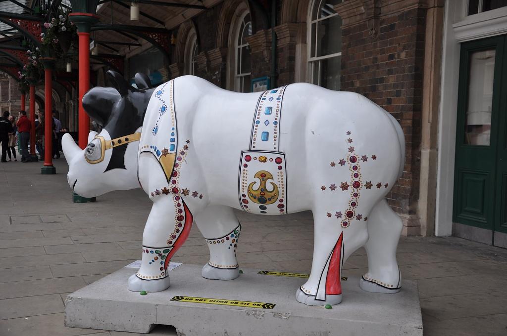 Elvis Presley rhino by overalvandaan