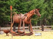 10th Feb 2013 - Rusty horse