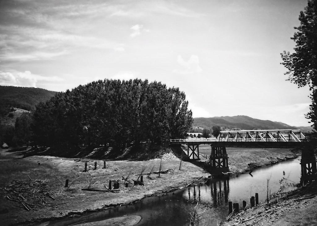 Bridge at Wee Jasper by peterdegraaff