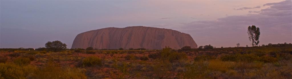 Uluru by sugarmuser
