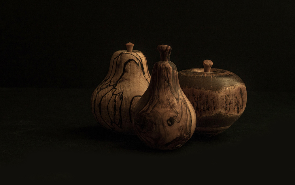 Wooden fruit by dulciknit