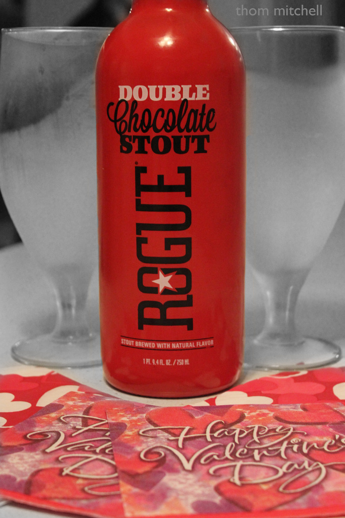 Beer & chocolate by rhoing