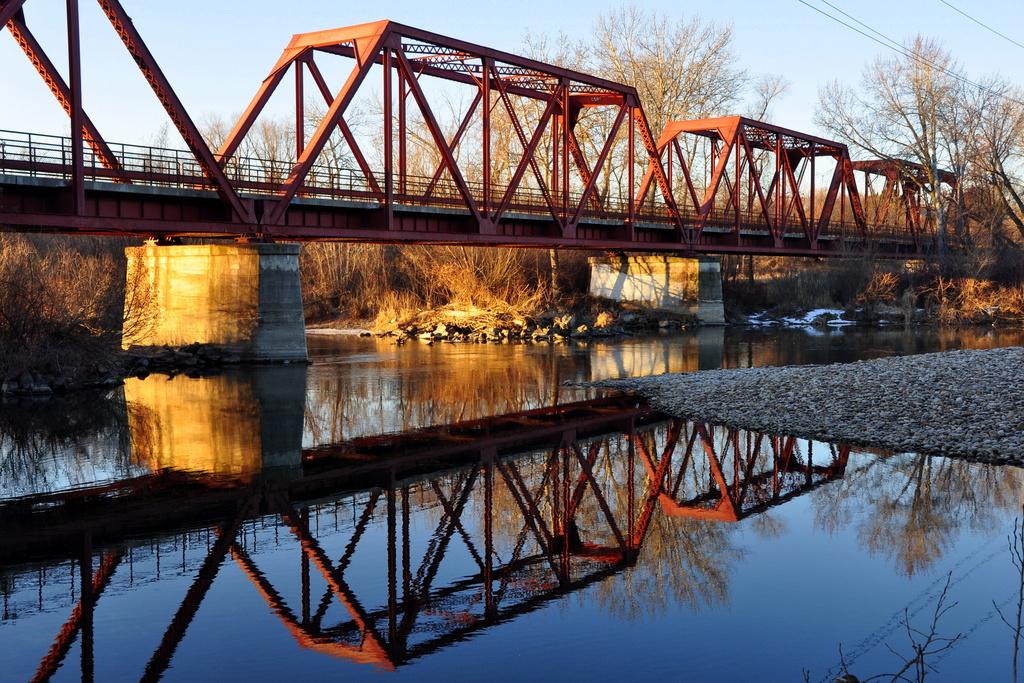 Trestle Bridge by pflaume