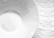 19th Feb 2013 - white plate on white tablecloth