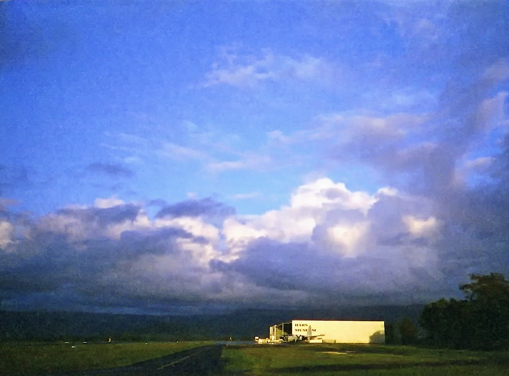 Dawn at the Airfield I by peterdegraaff