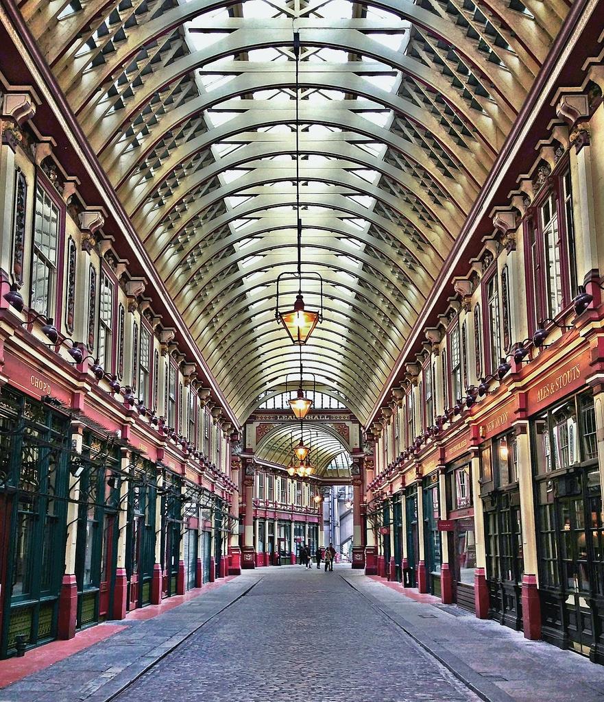 Leadenhall Market ... by edpartridge
