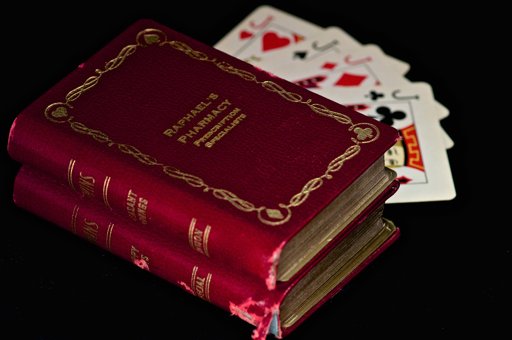 Raphael's Pharmacy Playing Cards Gift by taffy