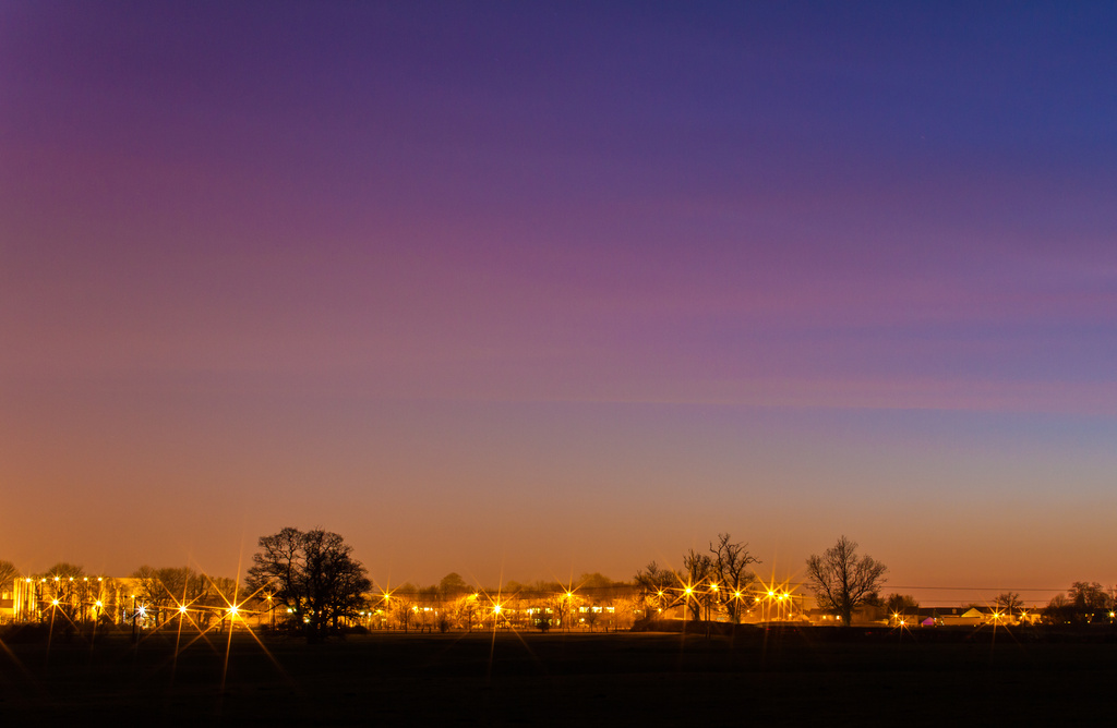 Day 58 - Cocklebury Lane after Sunset by snaggy