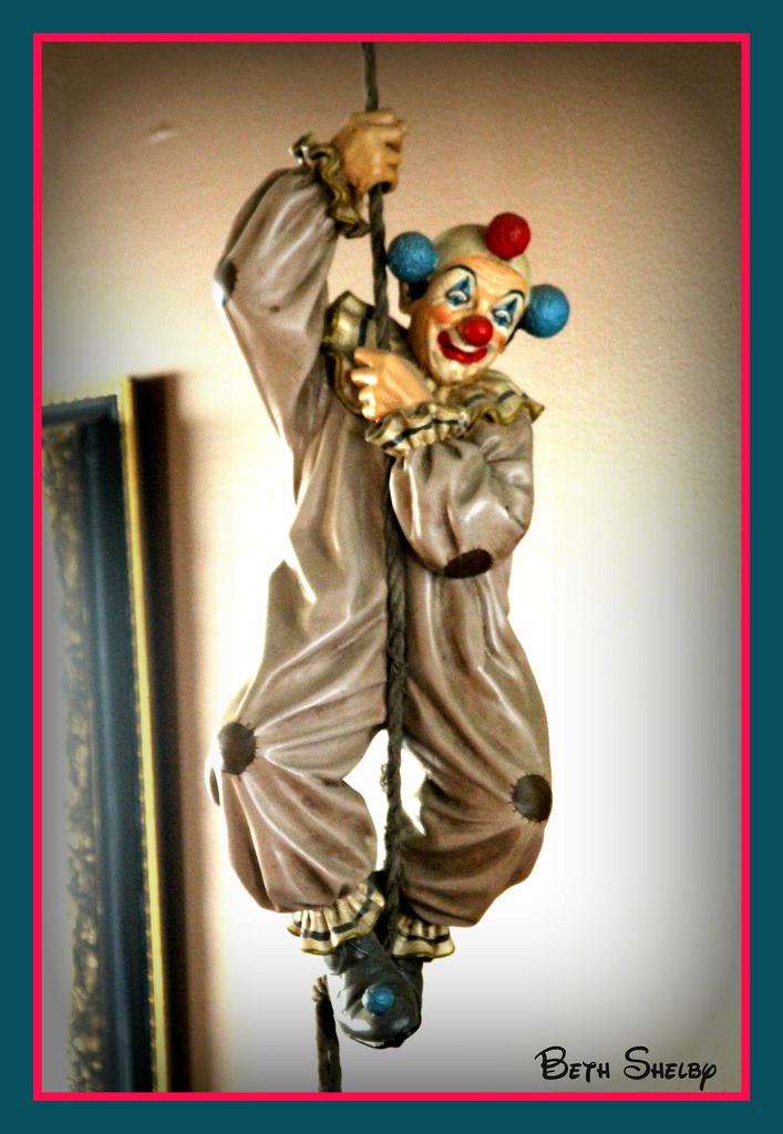 Michael's Clown by vernabeth