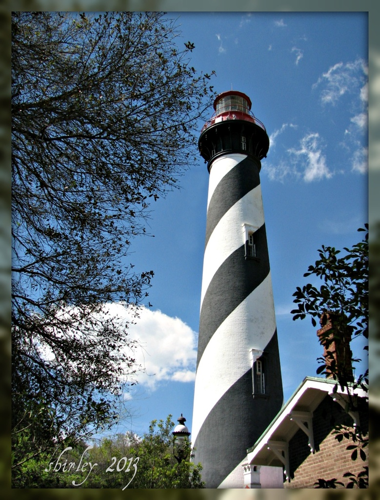 St Augustine Lighthouse by mjmaven