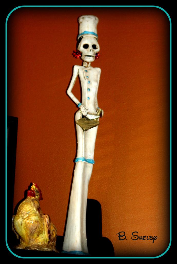 Day of Dead Art Piece by vernabeth