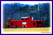 6th Feb 2013 - Little Red Caboose