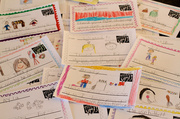 3rd Mar 2013 - Thank you notes from 1st Graders