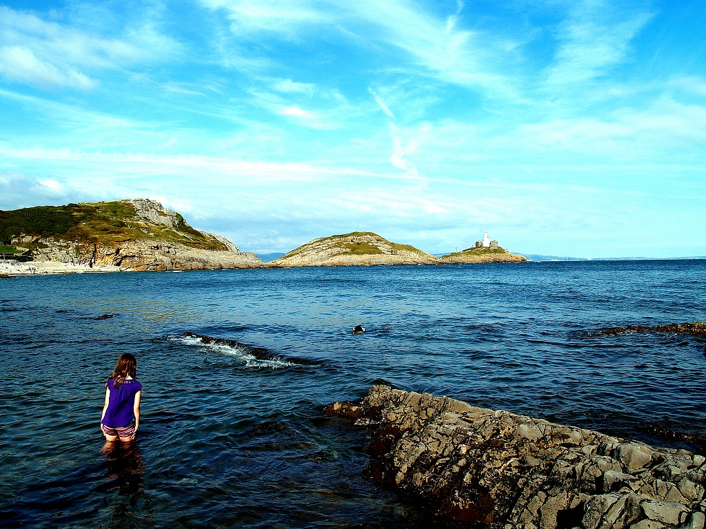 Bracelet Bay, Mumbles by rich57
