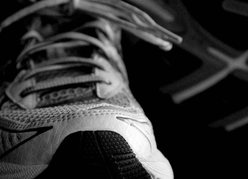 Running shoes by tara11
