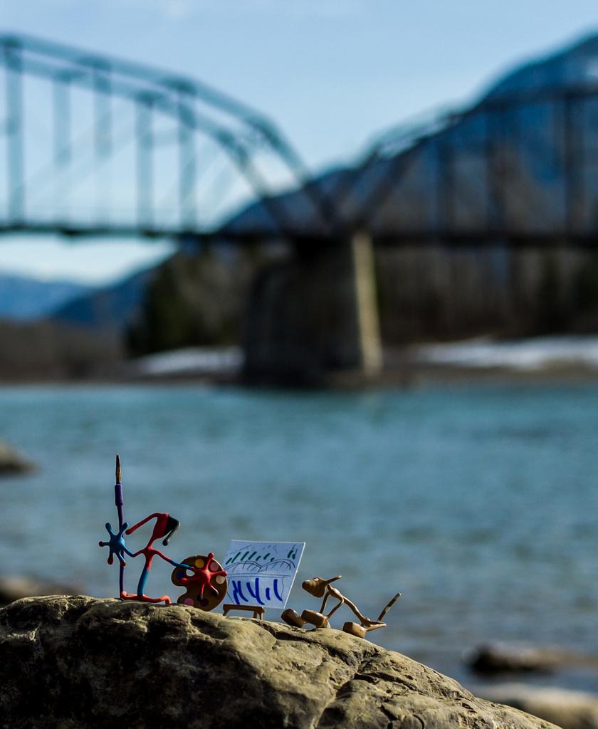 Draw Bridge by grizzlysghost
