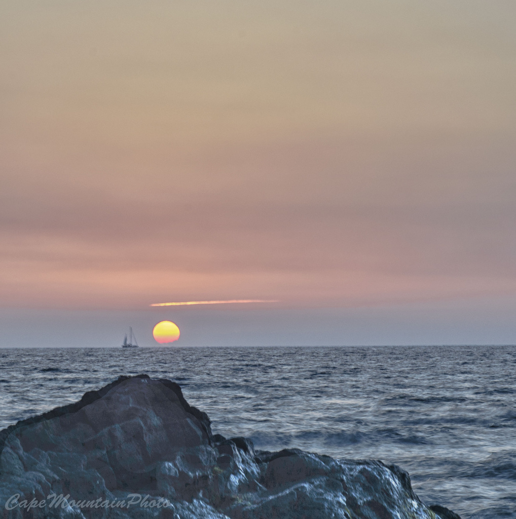 Sailing Into the Sunset  by jgpittenger