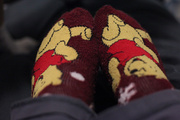 18th Feb 2013 - Slipper Socks