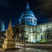 Day 75 - St Paul's @ night by snaggy