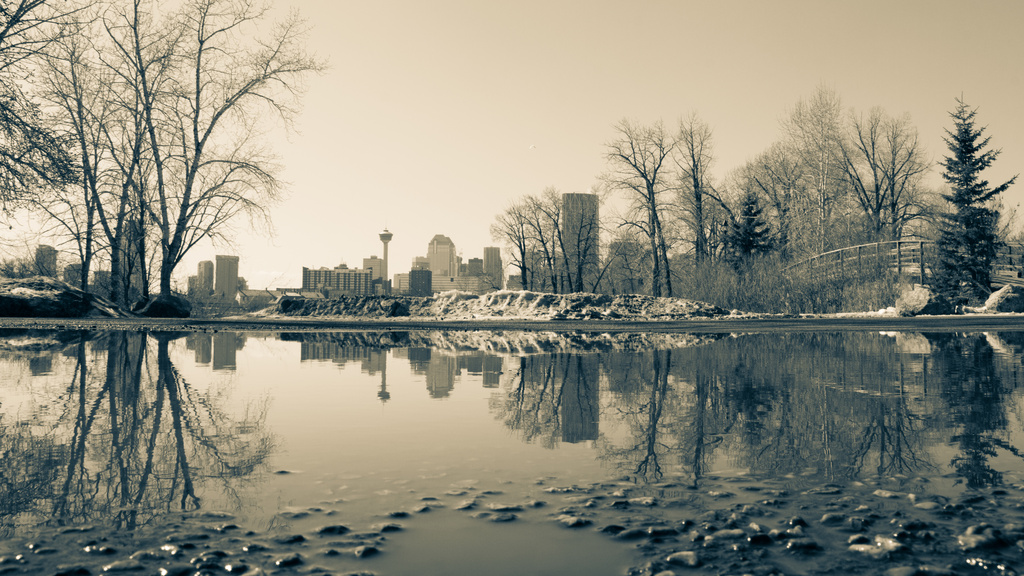 Calgary Reflection by kph129
