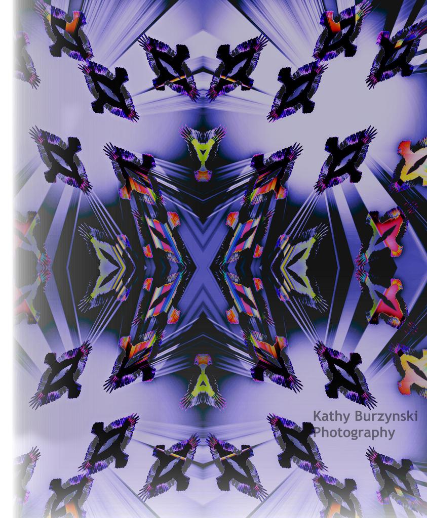Bazaar Buzzard Abstract by myhrhelper