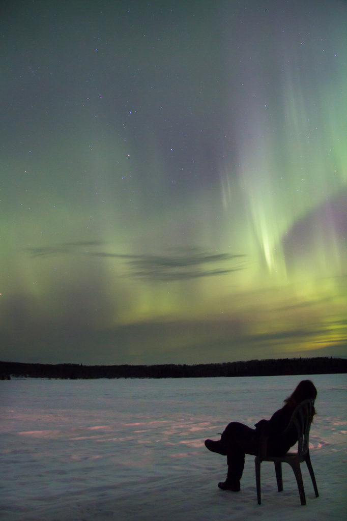 Enjoying the Aurora by kph129