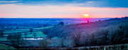 31st Mar 2013 - Day 90 - Sunset over Avon Valley
