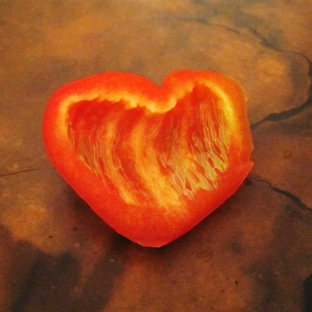 Aug 12. Pepper heart by margonaut