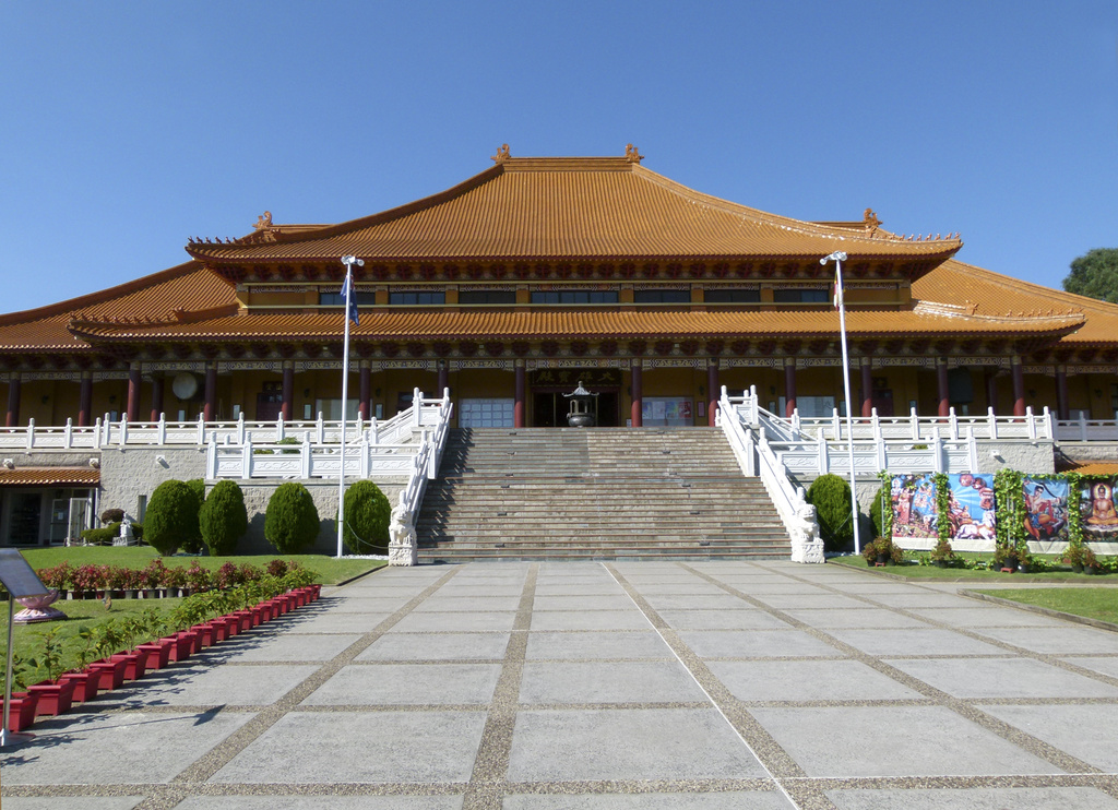 Main Shrine - Nan Tien Temple by onewing