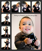 11th Apr 2013 - Dancing Baby Collage