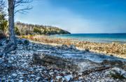 25th Apr 2013 - Beach at Door County Wisconsin