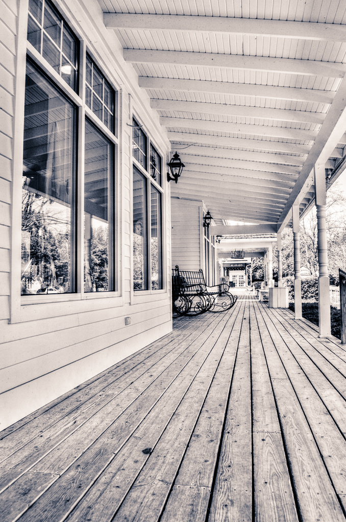 Porch in Door County (version 2) by myhrhelper