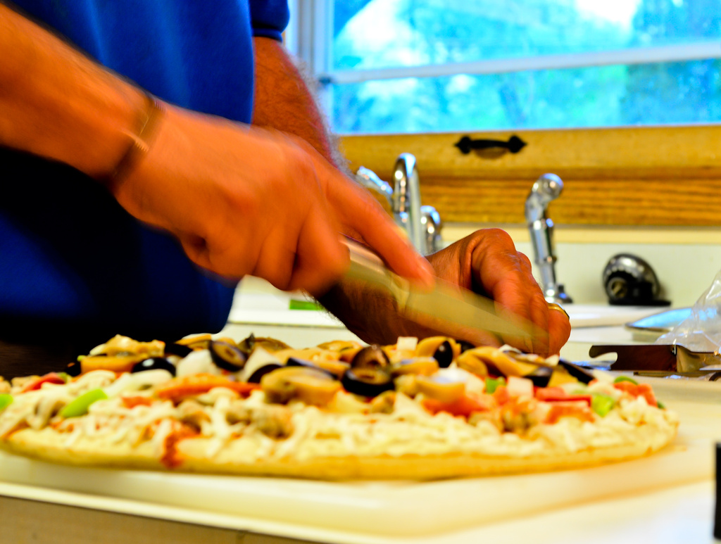 Get Pushed - Motion Blur (my husband in the kitchen) by myhrhelper