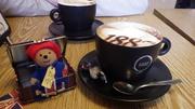 20th May 2013 - Paddington starting his travels...