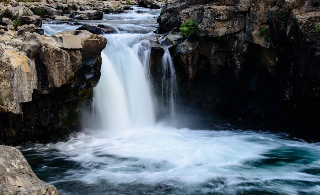 McCloud Waterfall 2  by jgpittenger