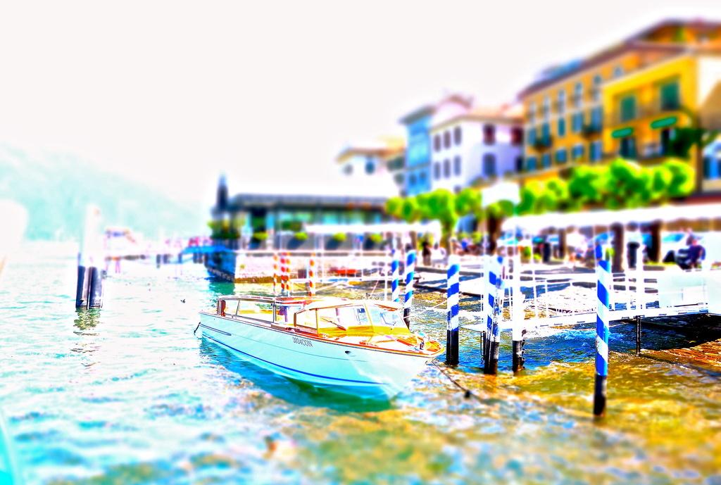 Bellagio harbor by cocobella