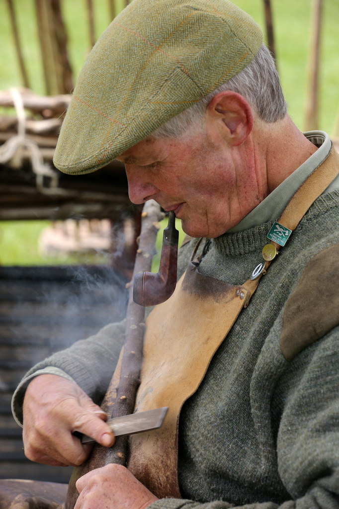 Stick Maker-Herts County Show-best viewed large by padlock