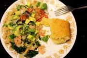 19th May 2013 - Shrimp with Avocado-Mango Salsa