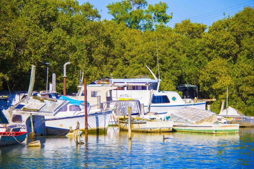 Boats by corymbia
