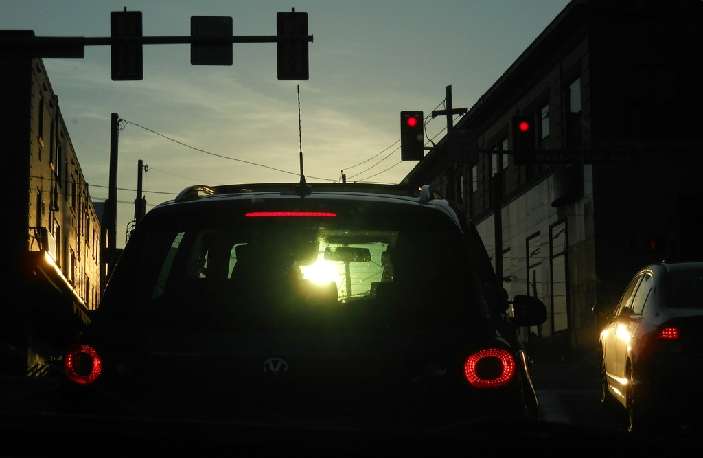 Stopped at the light by mittens