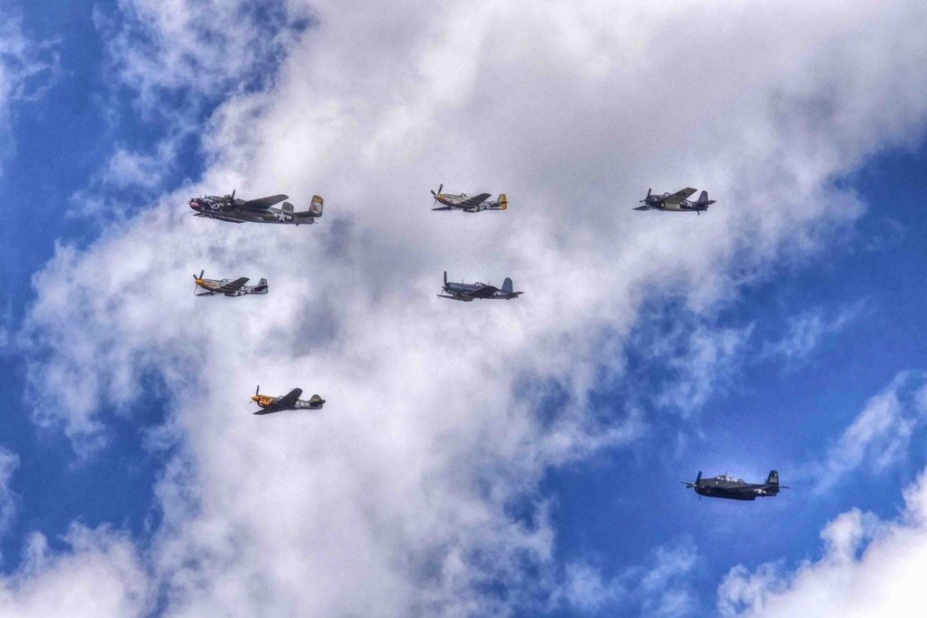 World War II Planes by exposure4u