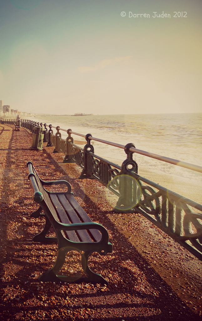 Bench By The Sea. by darrenboyj