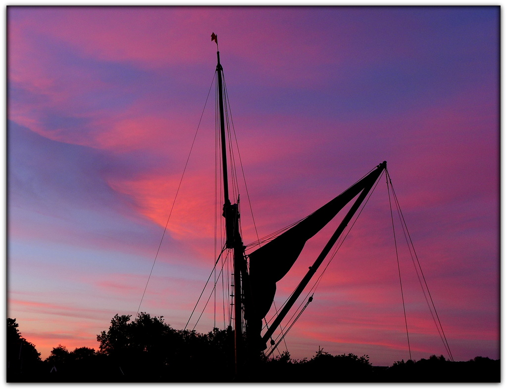 Red Sails in the Sunset by judithdeacon