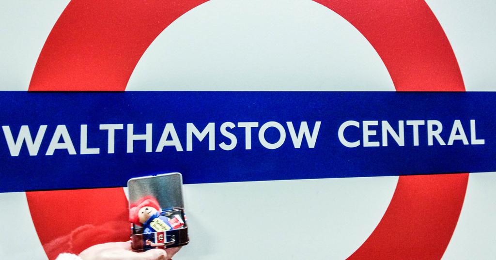 Paddington visits Walthamstow by bizziebeeme