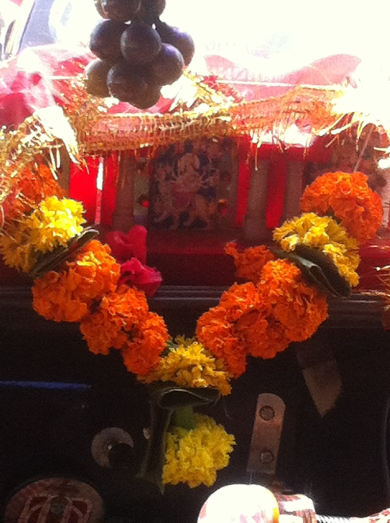 My mobile temple.  by veengupta