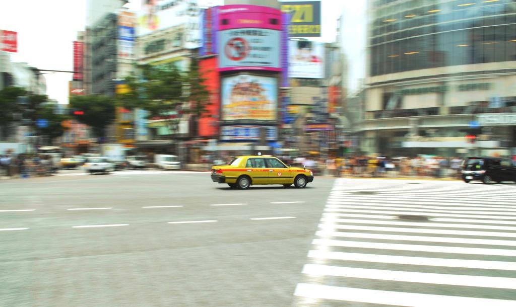 Shibuya cab by vankrey